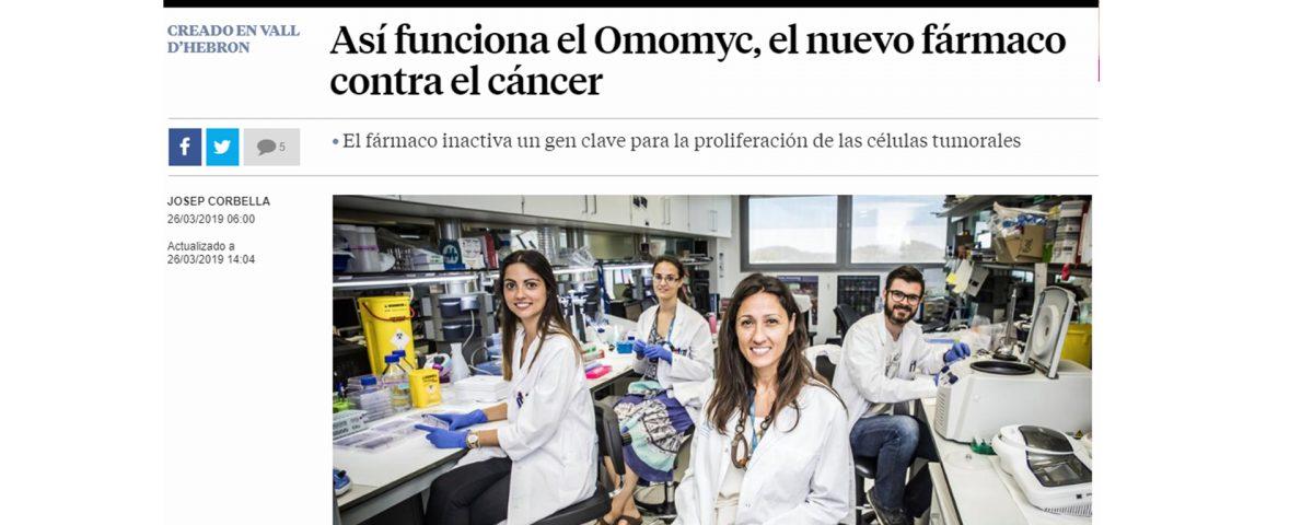 La Vanguardia Fàrmac Càncer
